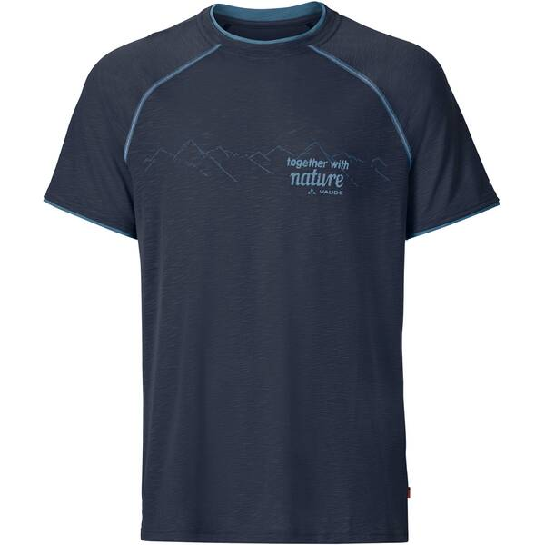 VAUDE Herren Shirt Skomer Print Shirt Grau