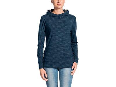 VAUDE Damen Pullover Tuenno Pullover Blau