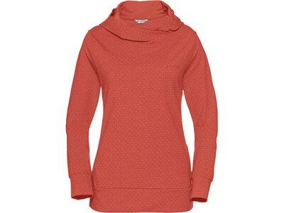VAUDE Damen Tuenno Pullover Rot