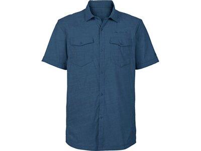 VAUDE Herren Hemd-Bluse Iseo Shirt Blau
