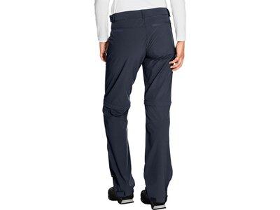 """VAUDE Damen Ziphose """"Farley Stretch ZO T-Zip Pants"""" Schwarz"""