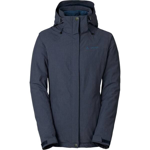 VAUDE Damen Doppeljacke Women's Caserina 3in1 Jacket, Größe 42 in eclipse/fjor