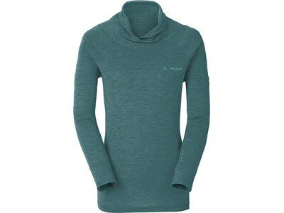 VAUDE Damen T-Shirt Women's Altiplano LS T-Shirt Blau
