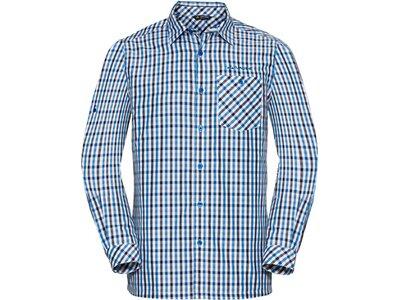 VAUDE Herren Hemd-Bluse Albsteig LS Shirt Silber