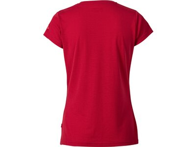 VAUDE Damen Shirt Gleann Shirt IV Rot