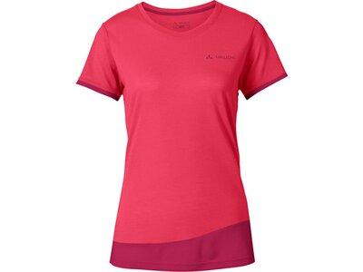 VAUDE Damen T-Shirt Sveit T-Shirt Rot