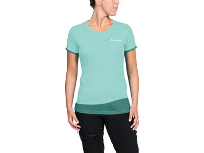 VAUDE Damen T-Shirt Sveit T-Shirt Blau