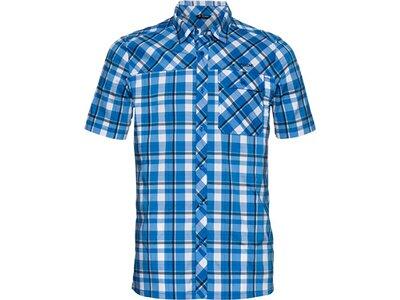 VAUDE Herren Hemd-Bluse Bessat Shirt II Blau