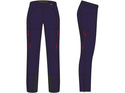 VAUDE Damen Hose Women's Shuksan Hybrid Pants Blau