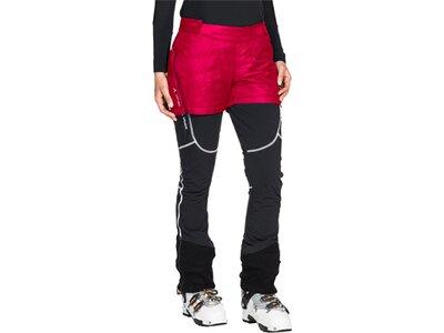 VAUDE Damen Hose Women's Sesvenna Shorts Rot