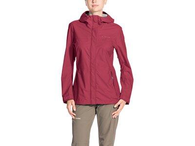 VAUDE Damen Jacke Lierne Jacket II Rot