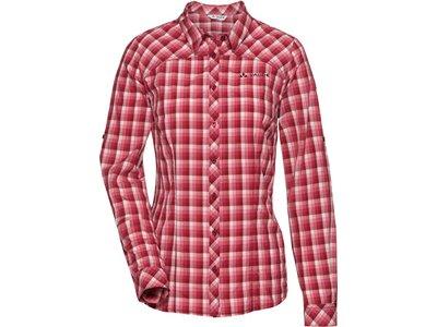VAUDE Damen Hemd-Bluse Tacun LS Shirt Pink