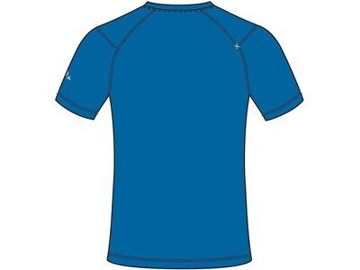 VAUDE Herren T-Shirt Hallett Shirt Blau