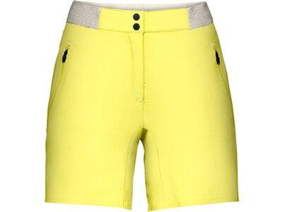 VAUDE Damen Hose Scopi LW Shorts II Gelb
