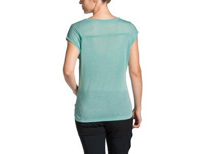 VAUDE Damen T-Shirt Tekoa Shirt Blau