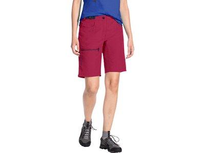 VAUDE Damen Hose Women's Tekoa Shorts Rot