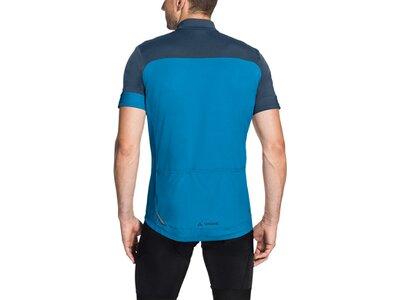 """VAUDE Herren Radsportshirt """"Mossano"""" Kurzarm Blau"""