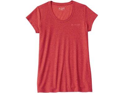 VAUDE Damen T-Shirt SE Kulam II Rot