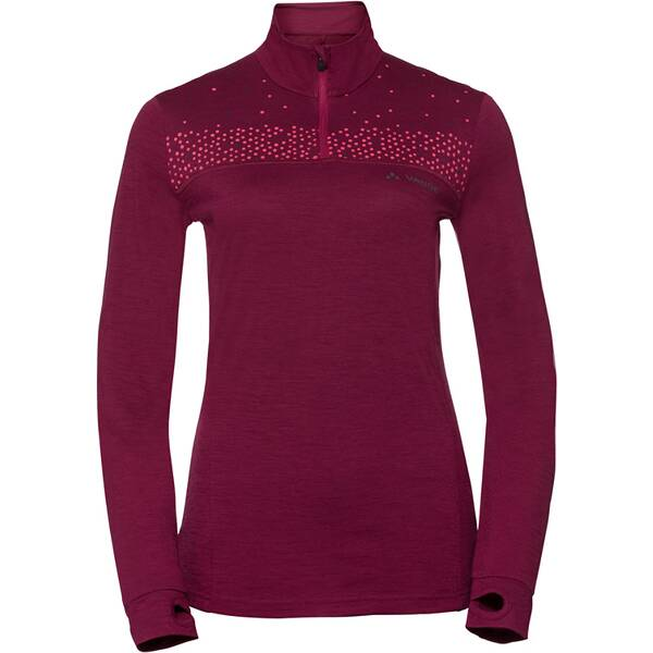 VAUDE Damen T-Shirt Women's Base Halfzip