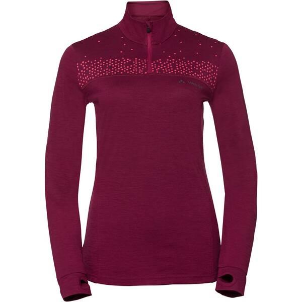 VAUDE Damen T-Shirt Women's Base Halfzip