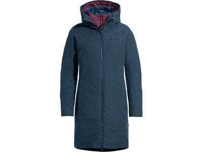 VAUDE Damen Annecy 3in1 Coat III Blau