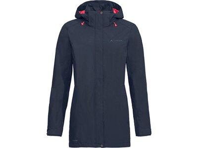 VAUDE Damen Funktionsjacke Skomer Jacket II Blau