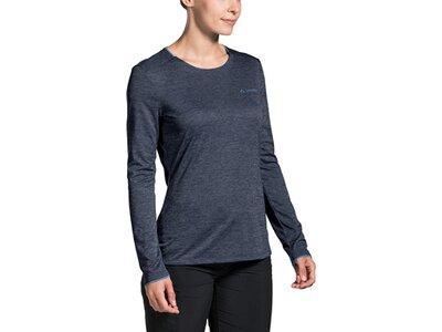VAUDE Damen Essential LS T-Shirt Grau