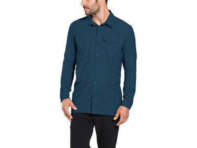 VAUDE Herren Rosemoor LS Shirt Blau