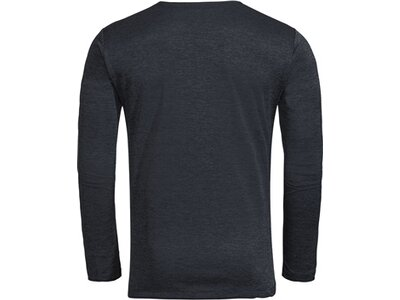 VAUDE Herren T-Shirt Essential LS T-Shirt Schwarz