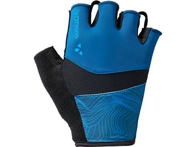 VAUDE Herren Kurzfinger-Radhandschuh Advanced Gloves II Blau
