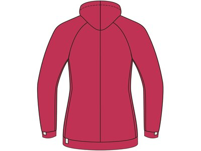 VAUDE Damen Jacke Cyclist Jacket II Rot