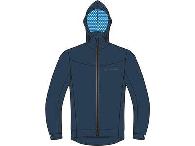 """VAUDE Herren Radjacke """"Cyclist Jacket II"""" Blau"""