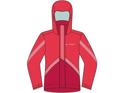 VAUDE Kinder Jacke Luminum Jacket II Rot