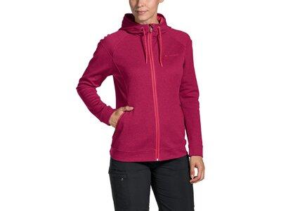 VAUDE Damen Jacke Skomer Fleece Jacket Rot