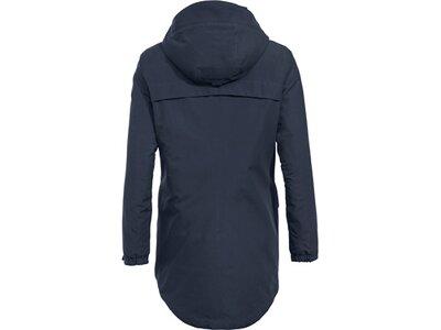 VAUDE Damen Jacke Women's Skomer Wool Parka Blau