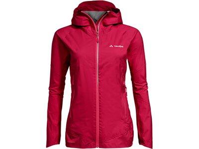 VAUDE Damen Jacke Women's Larice 2,5L Jacket II Rot