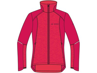 VAUDE Damen Wintry Jacket IV Rot
