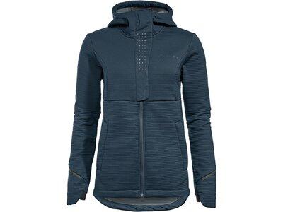 VAUDE Damen Funktionsjacke Wo Cyclist Winter Softshell Jacket Blau
