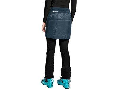 VAUDE Damen Sesvenna Reversible Skirt Blau