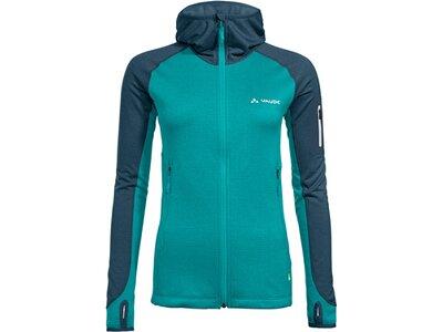 VAUDE Damen Jacke Women's Back Bowl Fleece Jacket II Blau