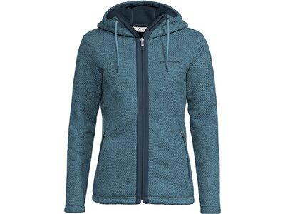 VAUDE Damen Skomer Hooded Jacket Blau