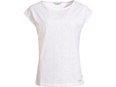 VAUDE Damen Zaneta AOP T-Shirt Weiß