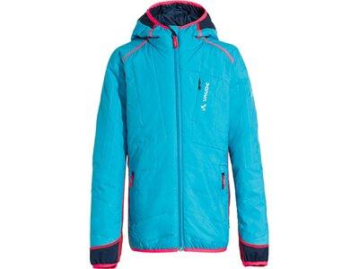 VAUDE Kinder Capacida Hybrid Jacket Blau