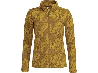 VAUDE Damen Limford Fleece Jacket Gelb