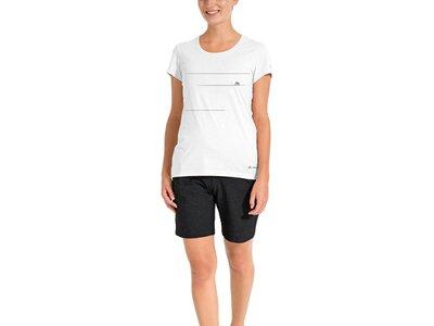 VAUDE Damen Cyclist T-Shirt V Weiß