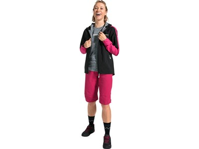 VAUDE Damen Moab Regenjacke II Pink