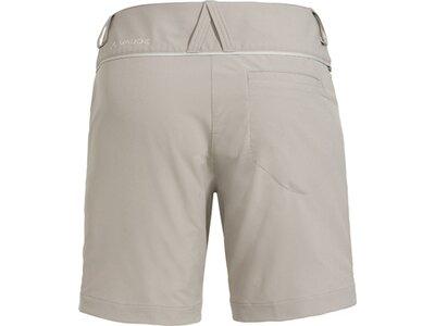 VAUDE Damen Skomer Shorts III Silber