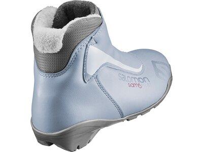 SALOMON Damen Langlauf-Skischuhe SIAM 5 PILOT Silber