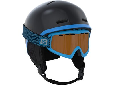 SALOMON Kinder Helm GROM Black Schwarz