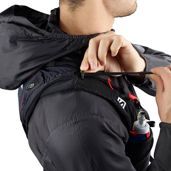 SALOMON Rucksack Bag Adv Skin 12 Set Black/matador